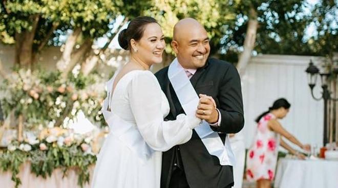 WATCH: What happened at Melissa Ricks' intimate wedding