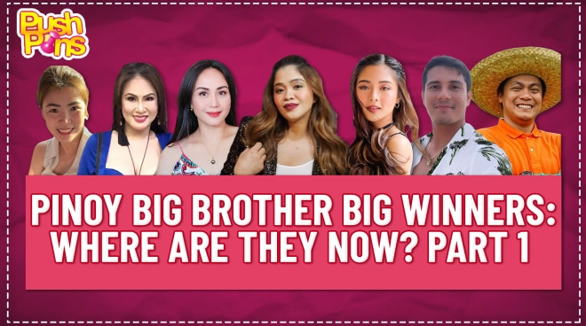 Pinoy Big Brother Big Winners: Where are they now? Part 1 | Pushpins
