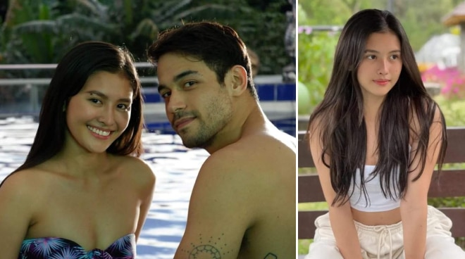 EXCLUSIVE: Newbie sexy star Christine Bermas thrilled to be paired with Albie Casino and Kit Thompson
