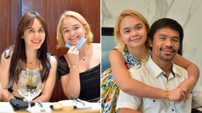 Manny and Jinkee Pacquiao's daughter Princess turns 15: 'You are deeply loved'