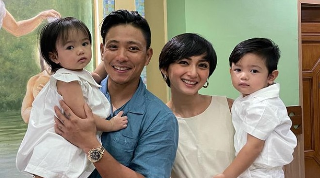 LOOK: Iya Villania and Drew Arellano's children get baptized together