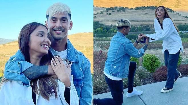 Jordan Herrera gets engaged to long-time girlfriend in the US