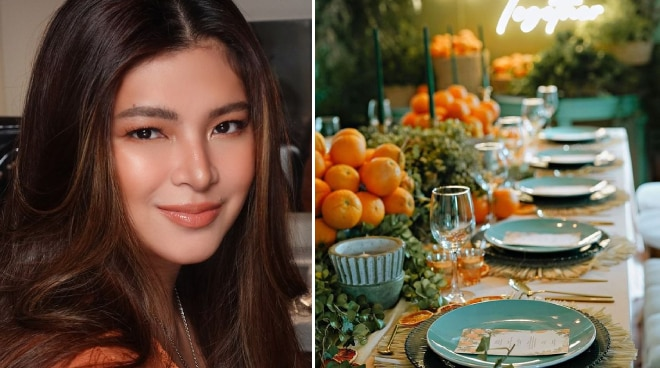 LOOK: Angel Locsin prepares thanksgiving dinner after her family's quarantine
