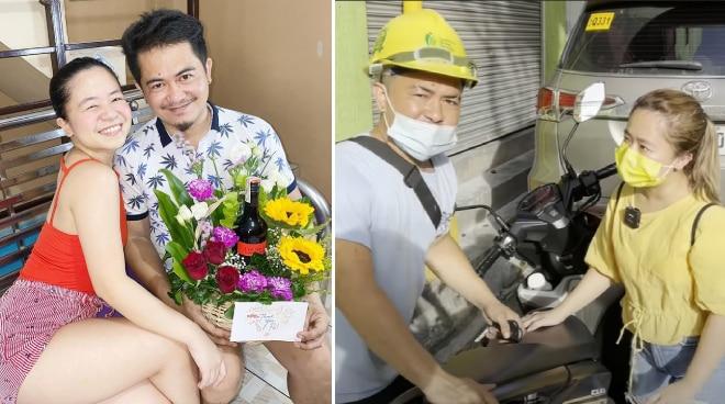 Kiray Celis, sinorpresa ang kapatid na construction worker