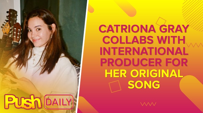 Catriona Gray collabs with international producer for her original song | PUSH Daily
