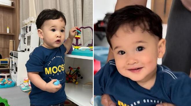 'My big boy': Coleen Garcia's son Amari gets his first haircut
