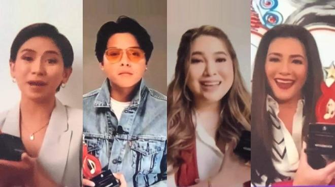 Sarah Geronimo, Daniel Padilla, Moira dela Torre, and Regine Velasquez win top honors in 12th PMPC Star Awards for Music