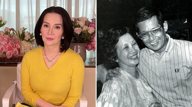 Kris Aquino honors Ninoy and Cory Aquino's 67th wedding anniversary: 'Nobody can come close to your wisdom'