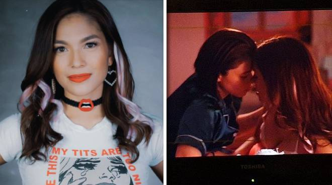 Andrea Torres on playing Kylie Padilla's girlfriend in 'BetCin': 'Very memorable yung first kiss'