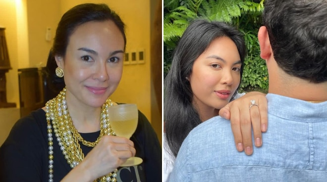 Gretchen Barretto shares thoughts on daughter Dominique's engagement