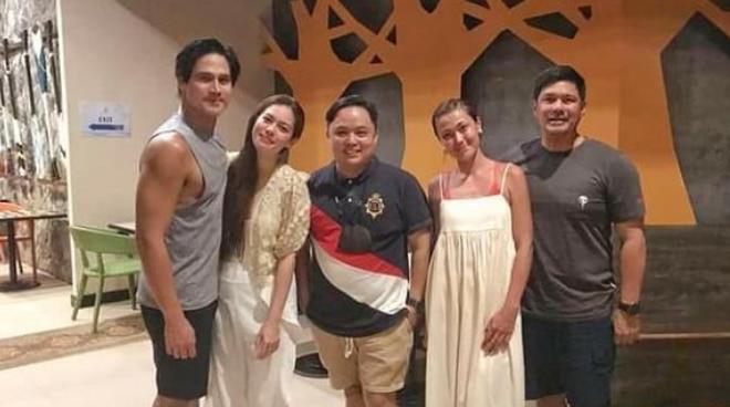 TINGNAN: Piolo Pascual at Shaina Magdayao nagbakasyon kasama sina Jodi Sta. Maria at Raymart Santiago