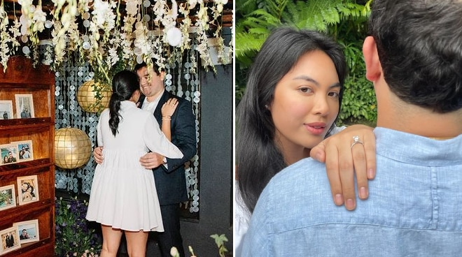 Dominique Cojuangco shares romantic moment when her fiancé proposed to her
