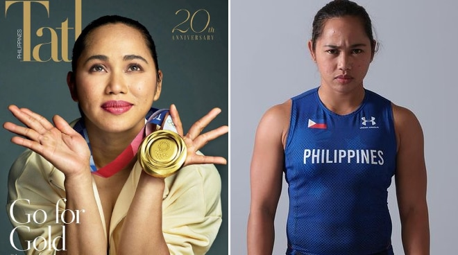 Hidilyn Diaz lands the cover of 'Tatler Philippines' for its 20th anniversary