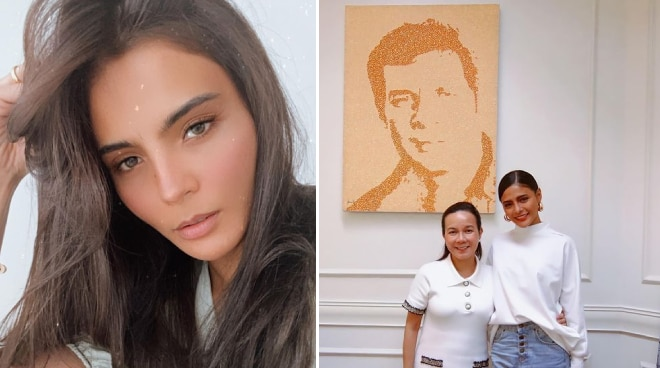 Here's what Lovi Poe has to say about renaming QC road after her father FPJ