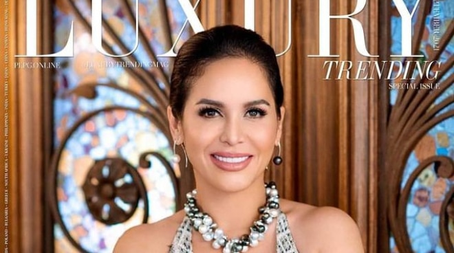 LOOK: Jinkee Pacquiao lands cover of luxury magazine