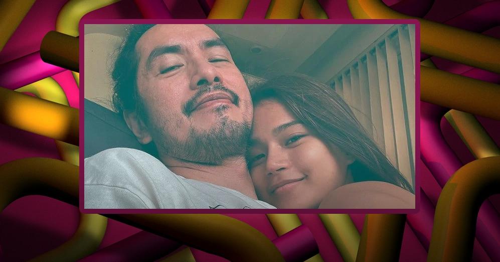 Rico Blanco shares rare cuddling photo with Maris Racal on her birthday