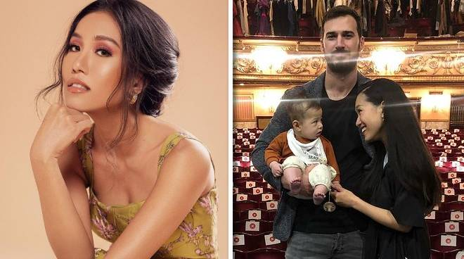 Rachelle Ann Go brings her baby Lukas to 'Les Miserables' concert in London