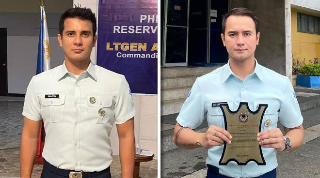 JM de Guzman and Ejay Falcon get recognition from Air Force