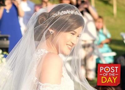 WATCH: Ogie Alcasid sings wife Regine Velasquez's song at Camille Prats wedding