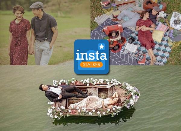 InstaStalker: Luis Alandy and fiancée's romantic prenup photos
