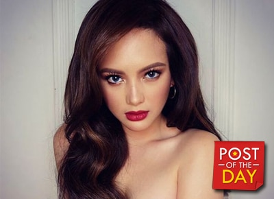 "LOOK: Ellen Adarna's ""just woke up"" pose"