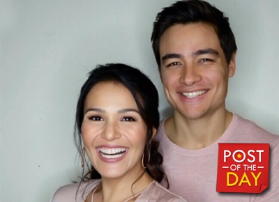 LOOK: Iza Calzado and boyfriend celebrate their 5th anniversary