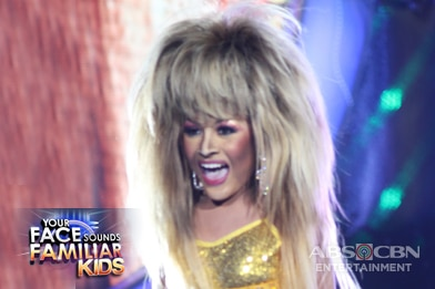 PHOTOS: Your Face Sounds Familiar Kids Week 4 Transformation