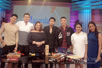 PHOTOS: Magandang Buhay with Ejay, Vin, Mark and Tony