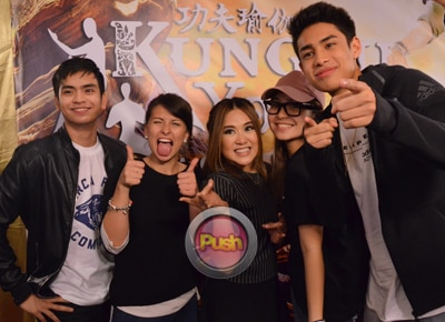 Star Magic artists flock to the 'Kung Fu Yoga' celebrity premiere