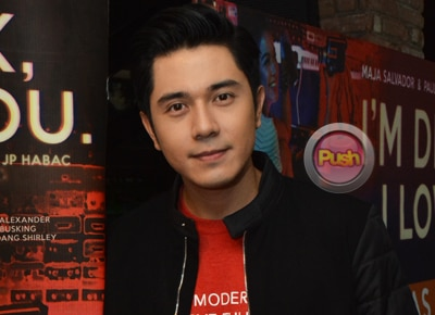Paulo Avelino remains mum on ongoing court case about his son