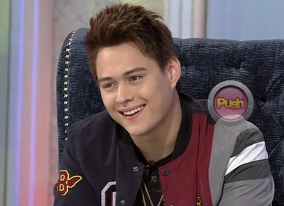 Enrique Gil on his relationship with Liza Soberano: 'We're in a good place right now.'