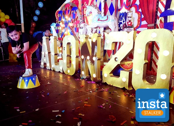 InstaStalker: Alonzo Muhlach's carnival-themed birthday bash