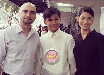 Nina Ricci Alagao gives heartfelt message for her son