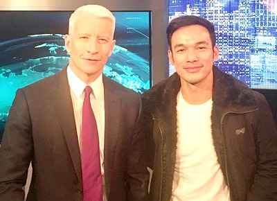 Mark Bautista clarifies issues linking him to CNN news anchor Anderson Cooper