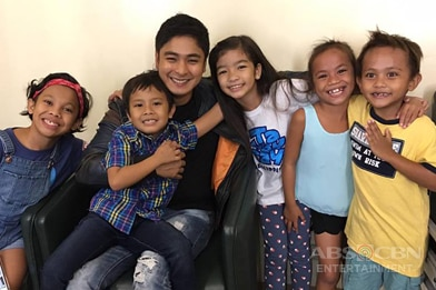 IN PHOTOS: Off cam bonding moments of Coco and FPJ's Ang Probinsyano Kids