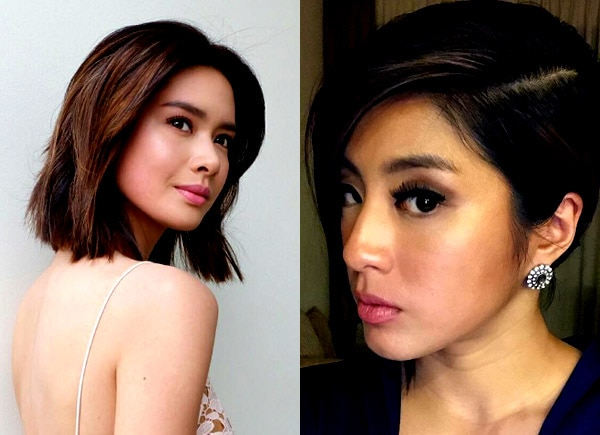 Eight celebrities who traded their long locks for a shorter do
