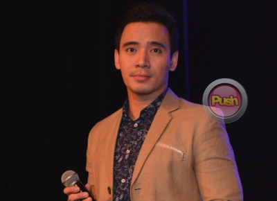 Is Erik Santos open to becoming a godfather of ex-girlfriend Rufa Mae Quinto's baby?