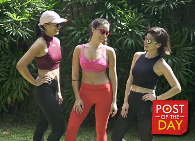 No pain, no gain: The 5 stages of working out according to Solenn, Anne and Isabelle
