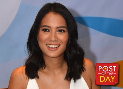 WATCH: Isabelle Daza plays 'Bato Bato Strip' with 'World's Hottest Math Teacher'
