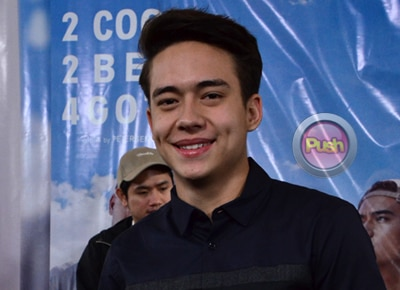 Jameson Blake on doing a sex scene: 'I didn't want to overthink it'