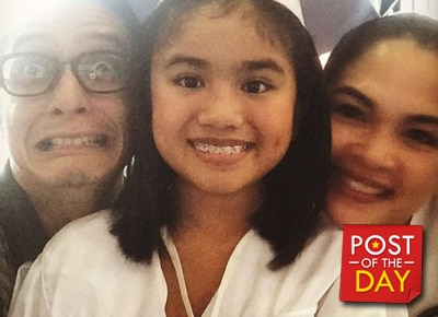 Judy Ann Santos and Ryan Agoncillo's daughter Yohan finishes grade school
