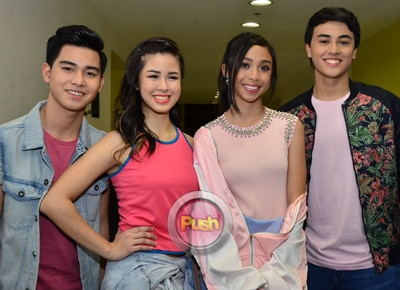 Edward, Kisses, Yong, Maymay excited about their first magazine covers