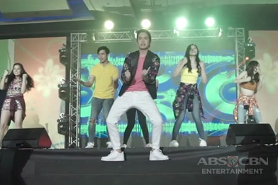 ABS-CBN Trade Event 2017: ElNella, NLex, McLisse & Joshua do the