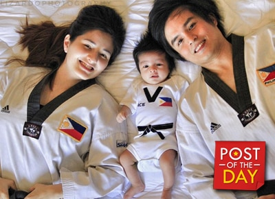 Family Goals: Japoy Lizardo's adorable Taekwondo Squad