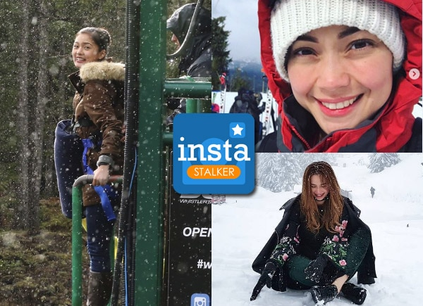 InstaStalker: Celebrities who spent their vacations in winter wonderland