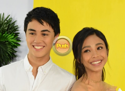 EXCLUSIVE: Edward Barber and Maymay Entrata talk about adjusting to life in showbiz