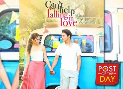 'Can't Help Falling in Love' earns P100 million in four days