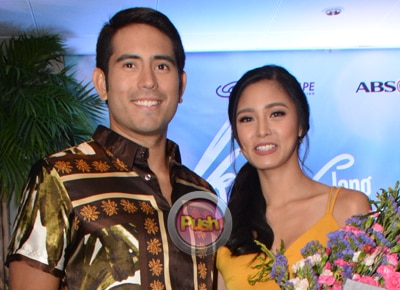 Gerald Anderson and Kim Chiu react to new morning timeslot of their teleserye