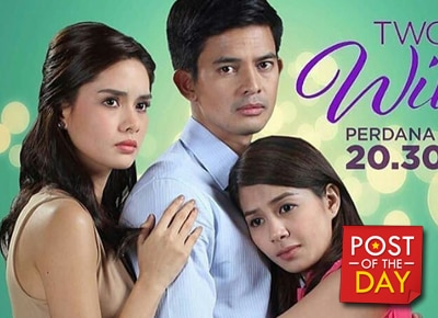 "Kapamilya teleserye ""Two Wives"" airs in Indonesia"