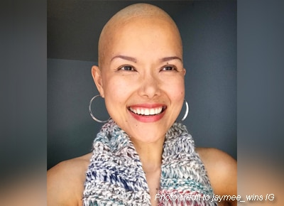 'Kabagang Jaymee' remains positive despite having cancer
